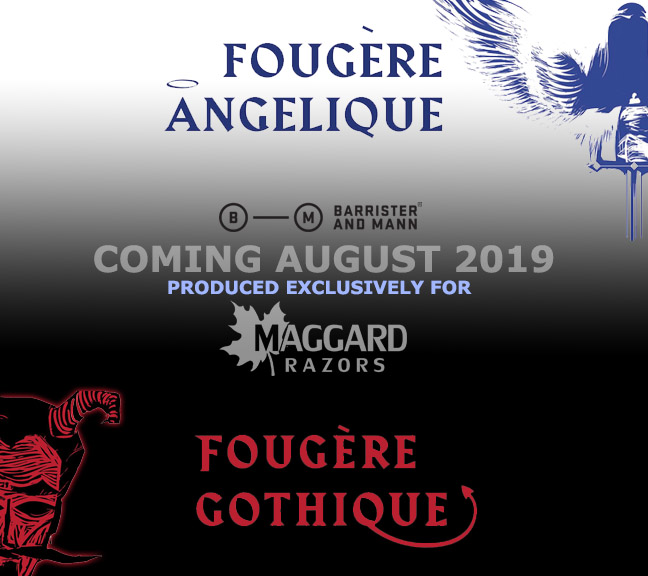 Barrister and Mann & Maggard Razors - Fougère Gothique and Fougère Angelique