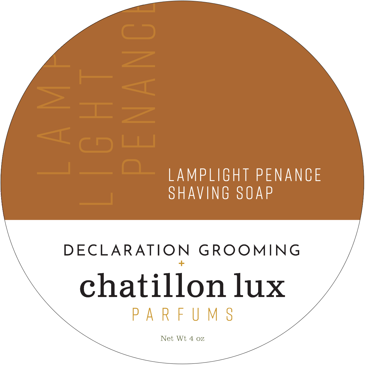 Chatillon Lux / Declaration Grooming - Lamplight Penance, Soap