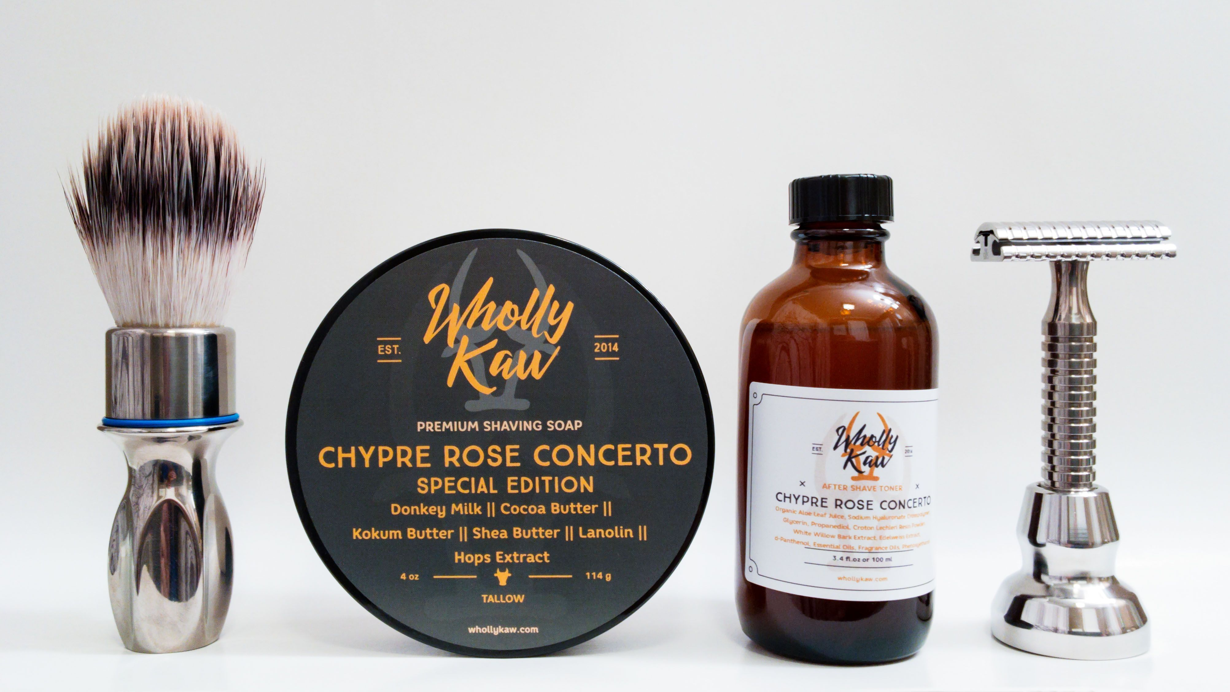 "Wholly Kaw ""Chypre Rose Concerto"""