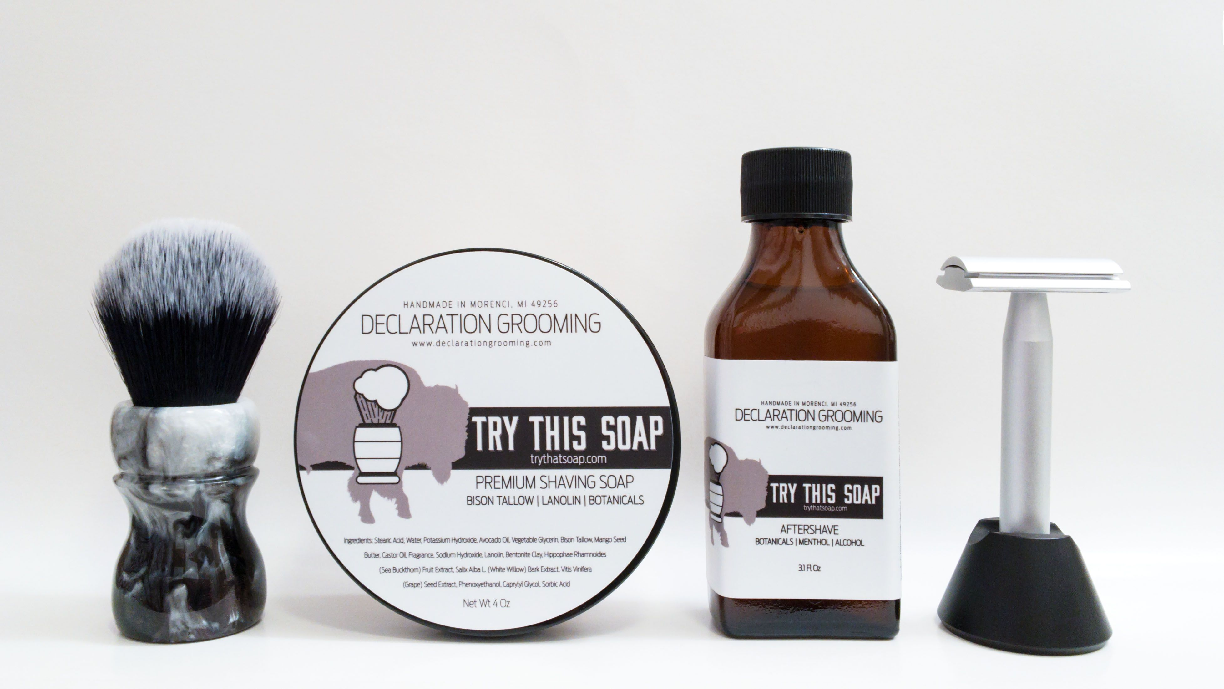 "Declaration Grooming ""Try This Soap"""