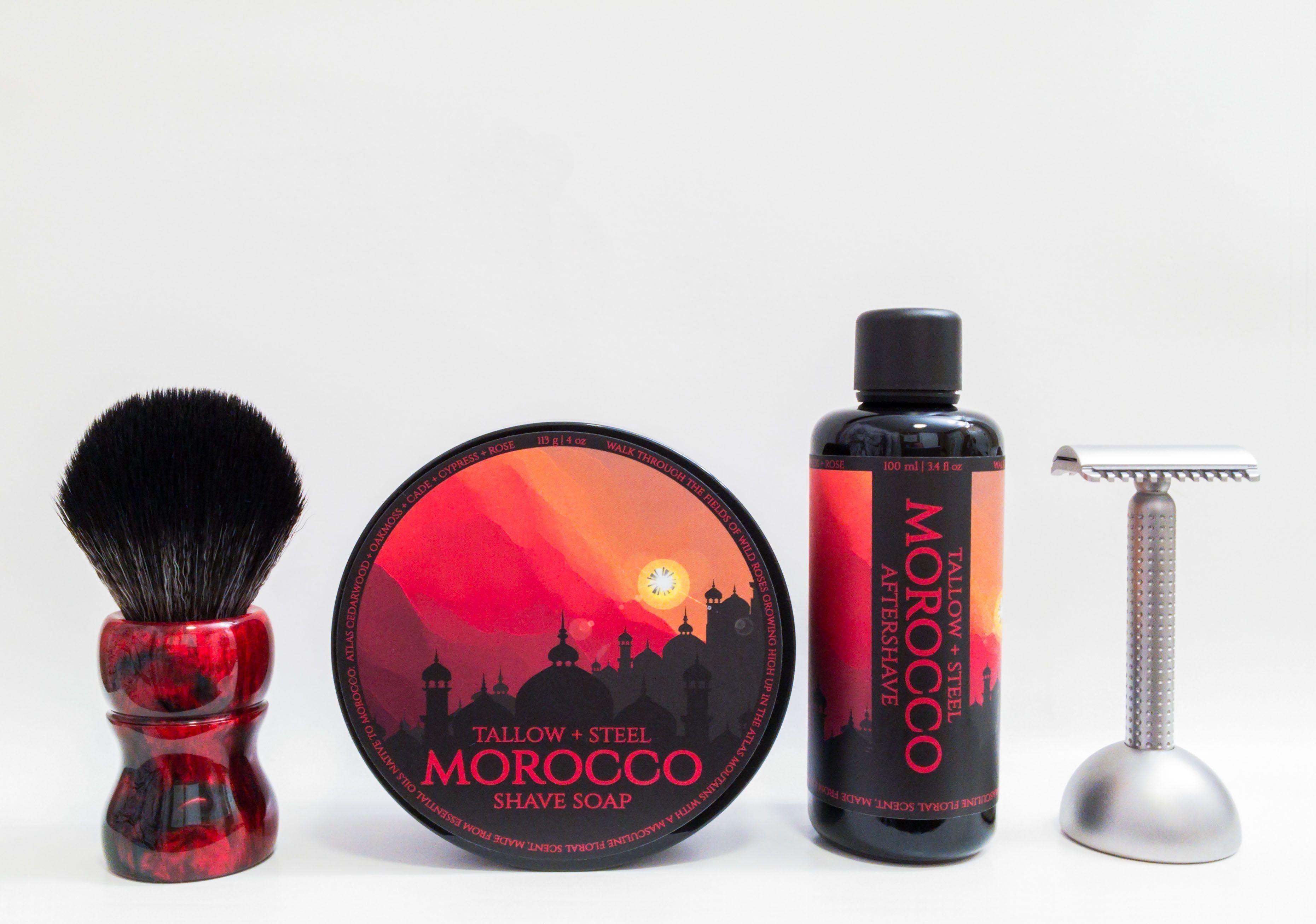 "Tallow + Steel ""Morocco"""