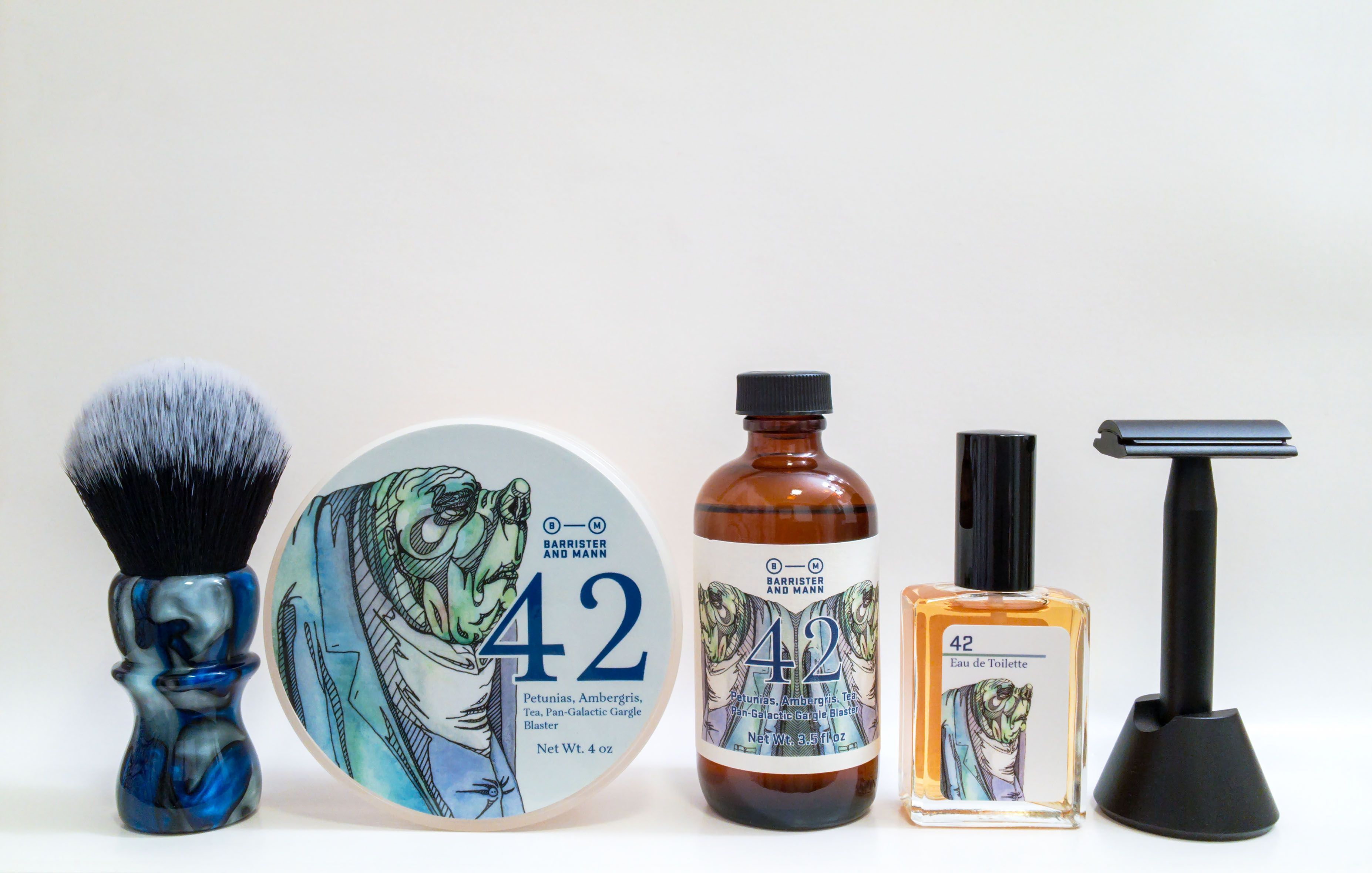 """Barrister and Mann """"42"""""""