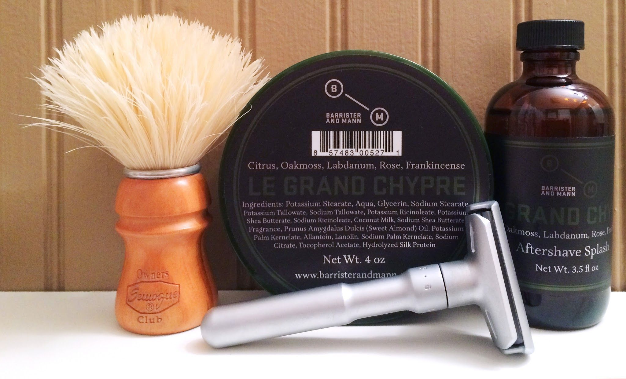 "Barrister and Mann ""Le Grand Chypre"""