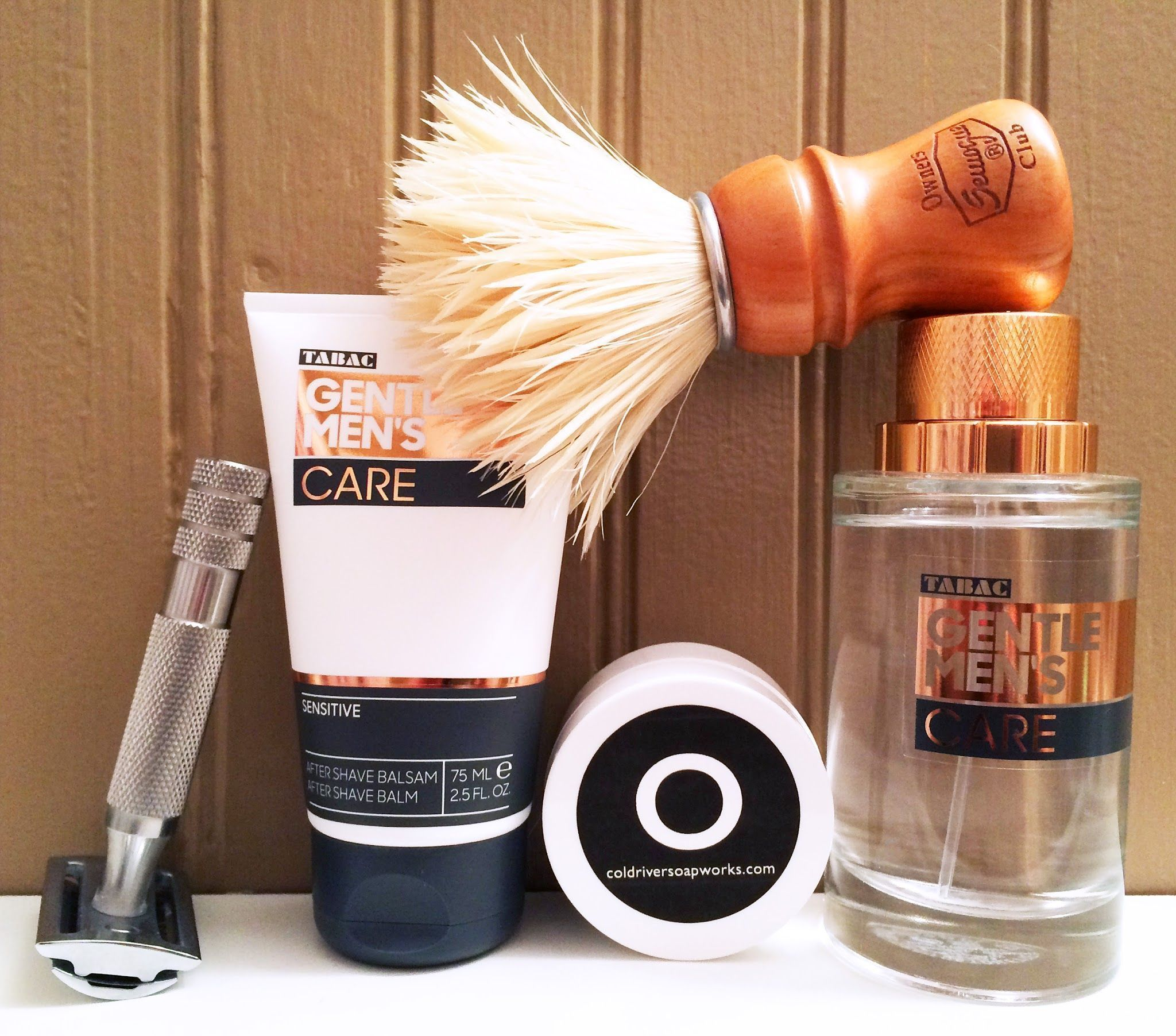 "CRSW ""Oliva"" & Tabac ""Gentle Men's Care"""