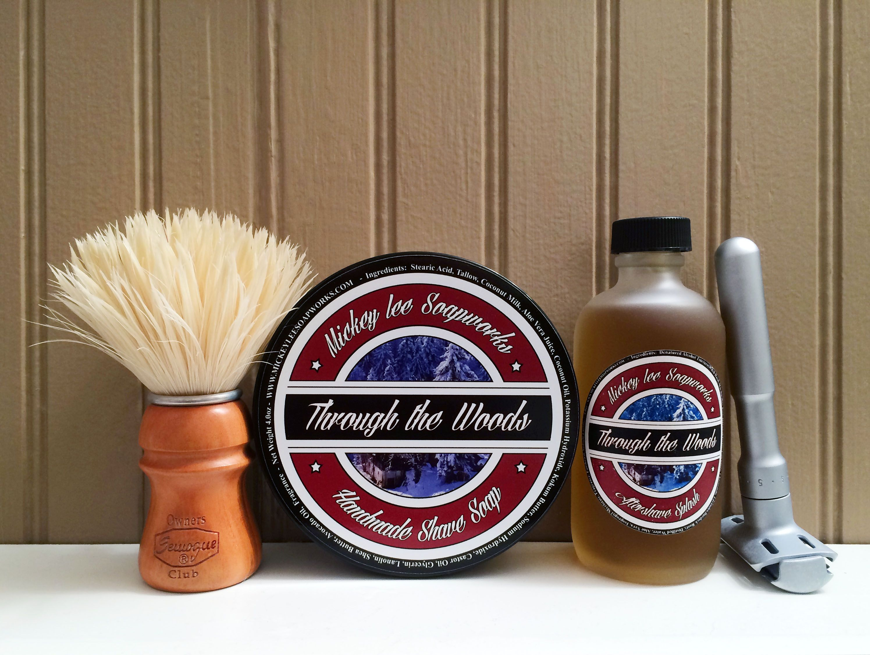 """Mickey Lee Soapworks """"Through the Woods"""""""