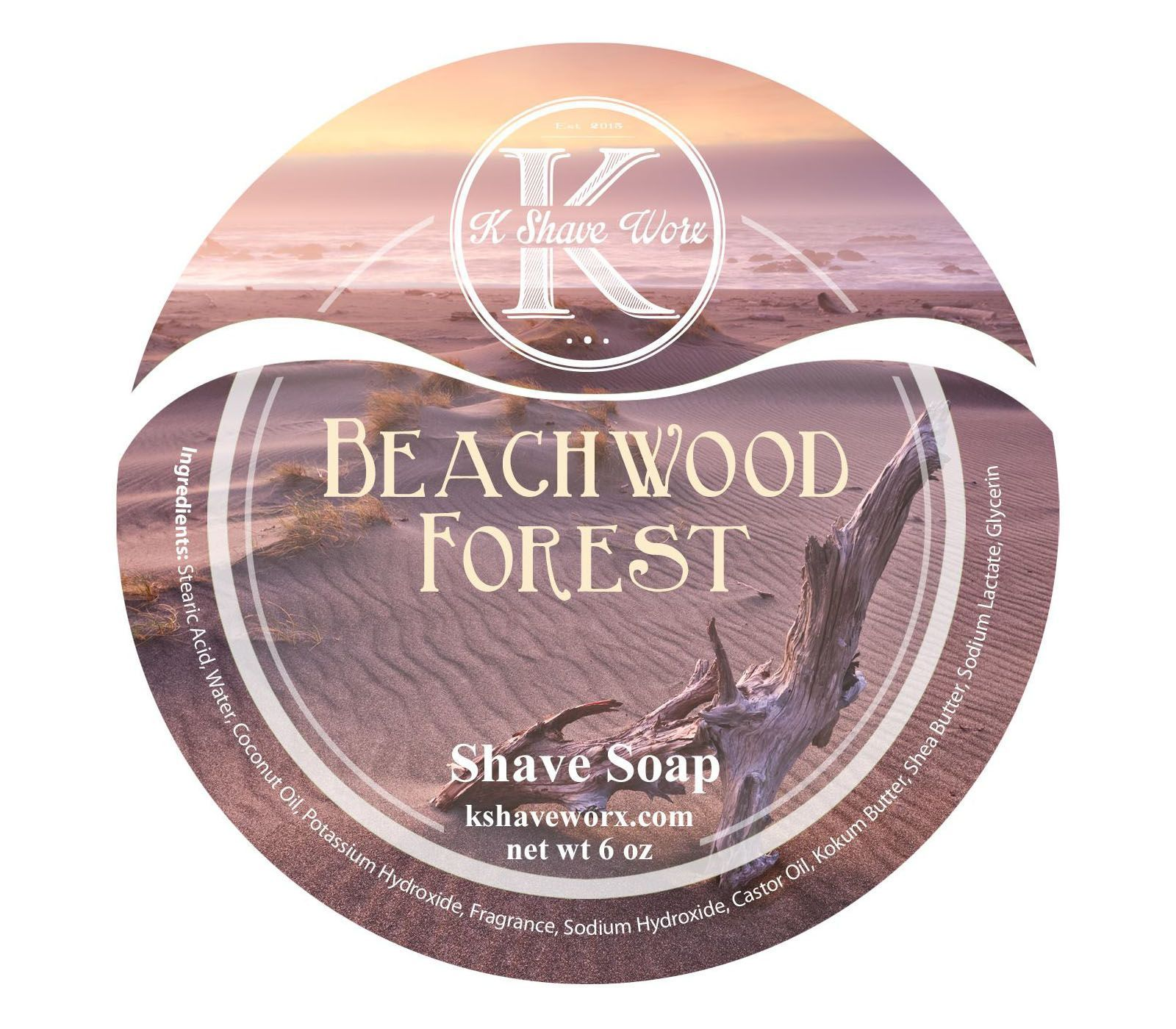 "K Shave Worx ""Beachwood Forest"""