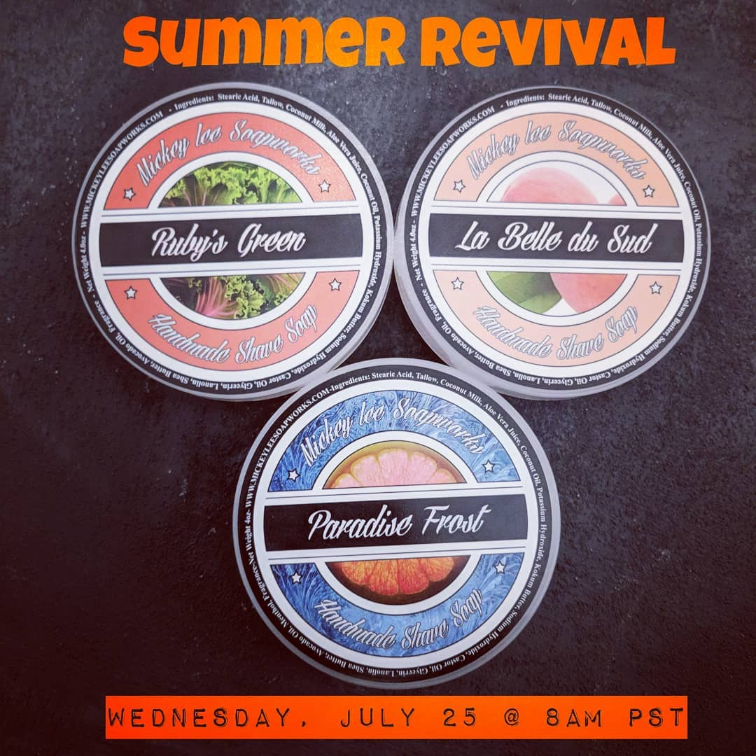 Mickey Lee Soapworks - 2018 Summer Revival