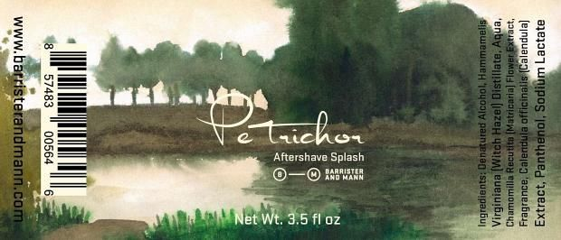 "Barrister and Mann ""Petrichor"""