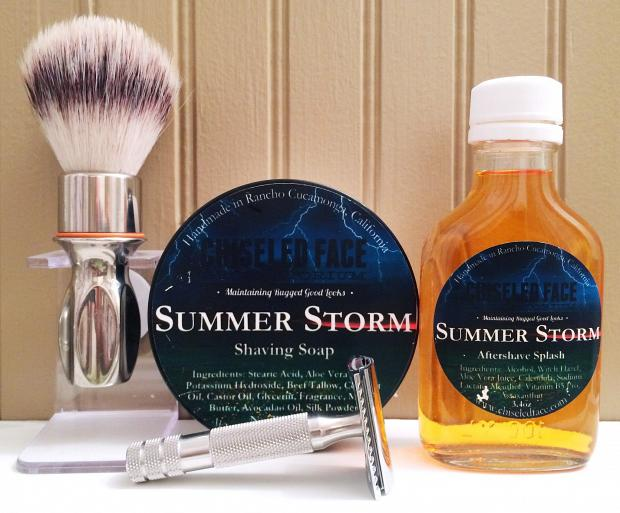 "Chiseled Face ""Summer Storm"""