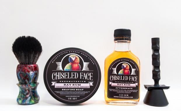 "Chiseled Face ""Bay Rum"""