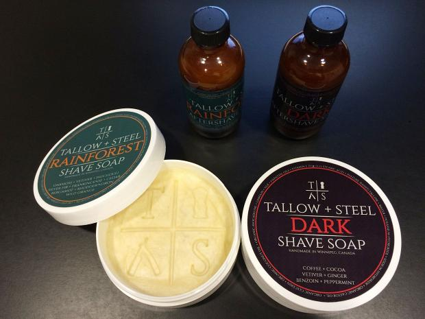 "Tallow + Steel ""Dark"" and ""Rainforest"""