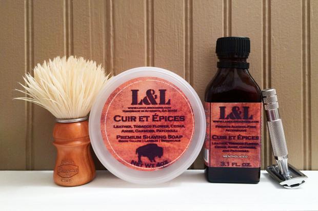 """L&L Grooming """"Cuir et Épices"""""""