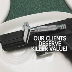 Italian Barber Killer Ad
