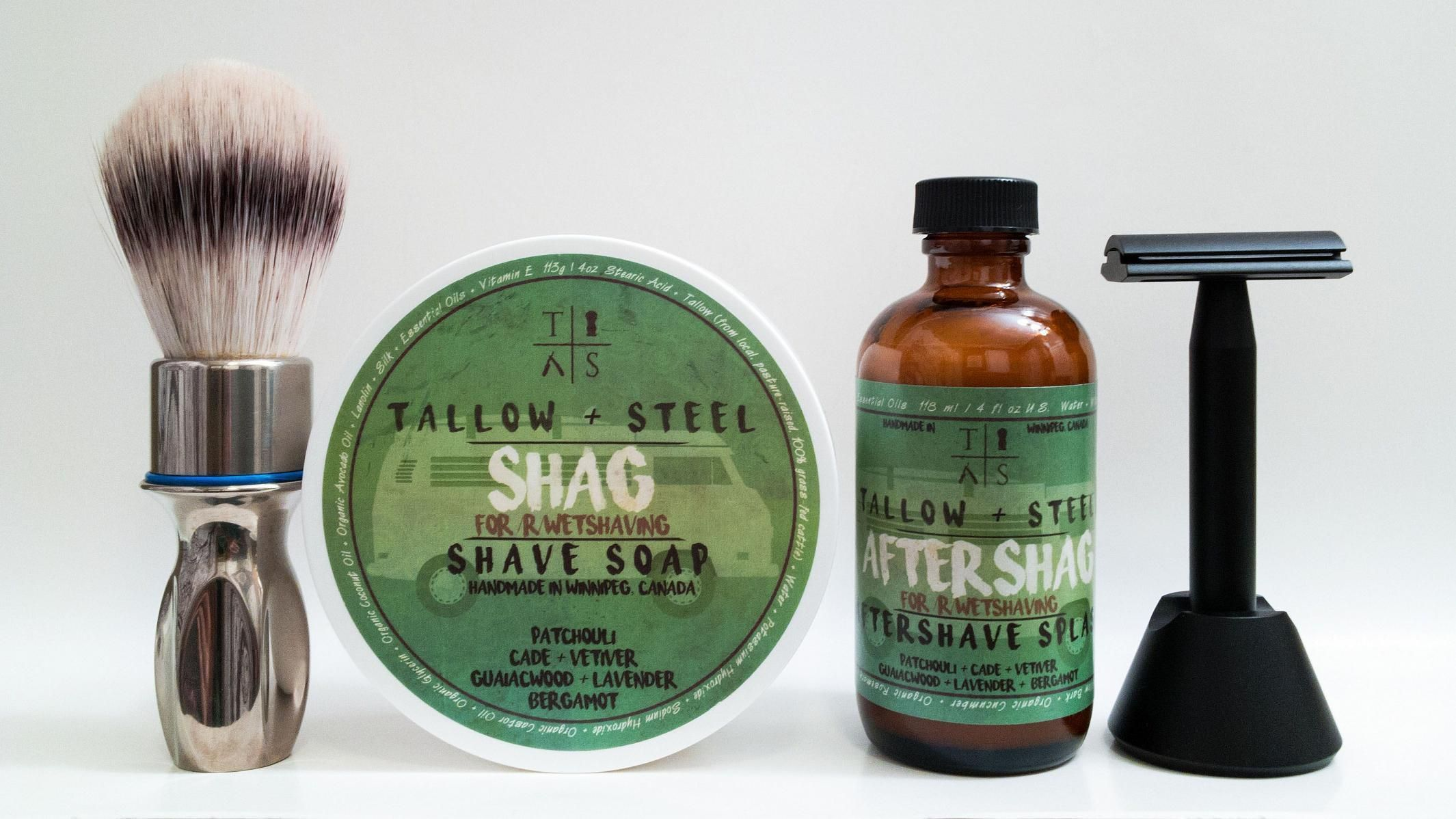 "Tallow + Steel ""Shag"""