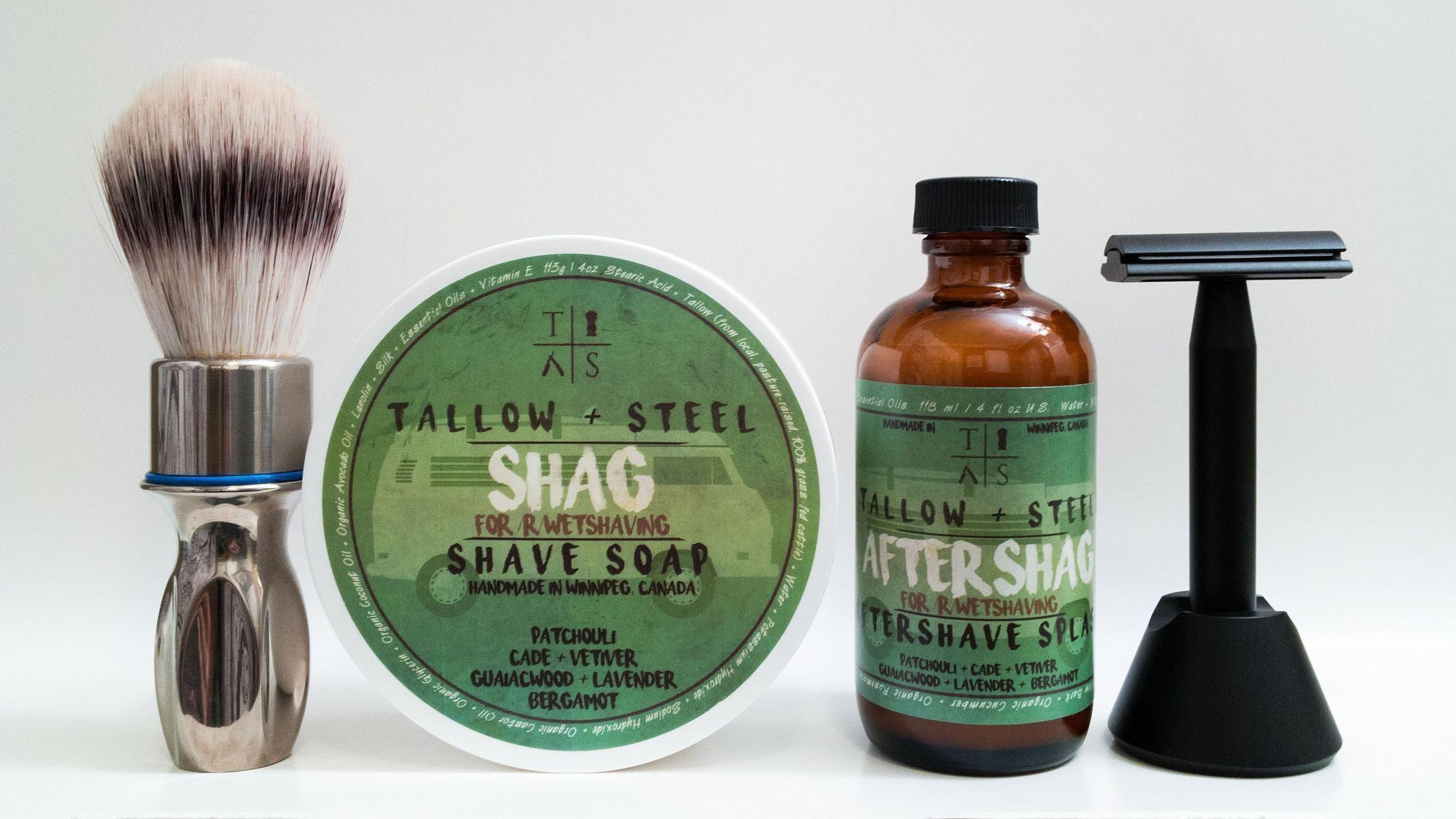 """Tallow + Steel """"Shag"""""""
