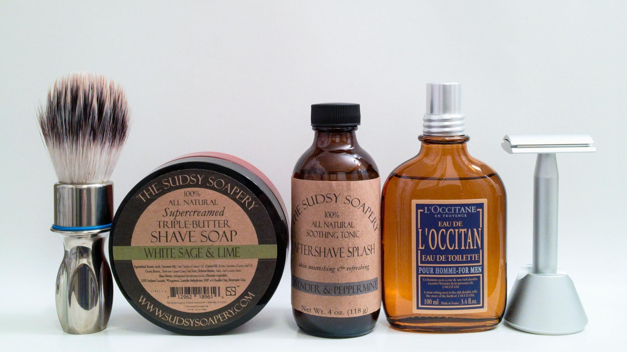 The Sudsy Soapery & L'Occitane