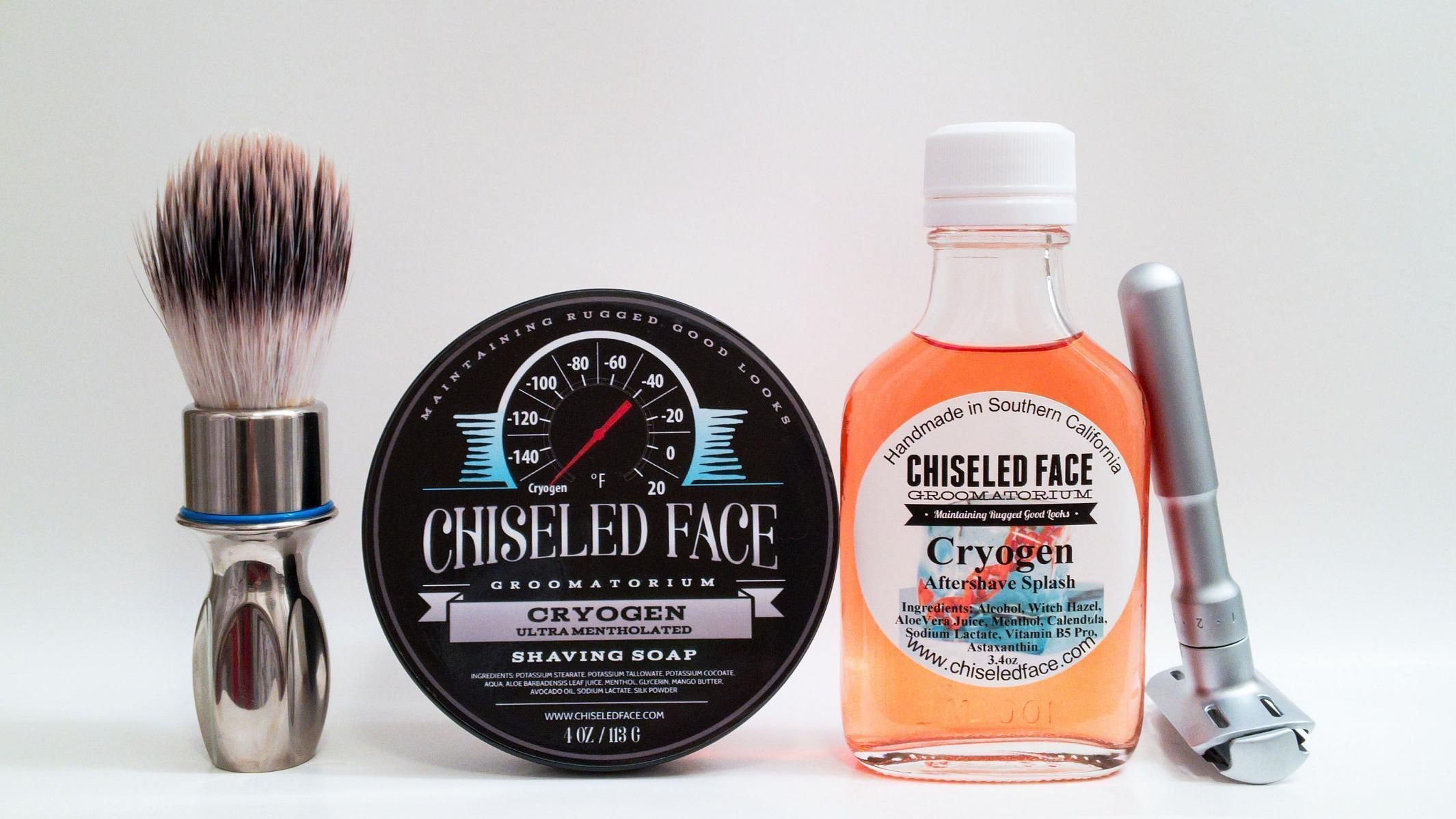 "Chiseled Face ""Cryogen"""