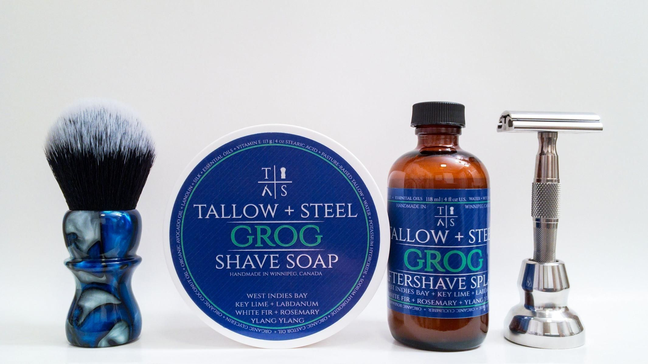 "Tallow + Steel ""Grog"""