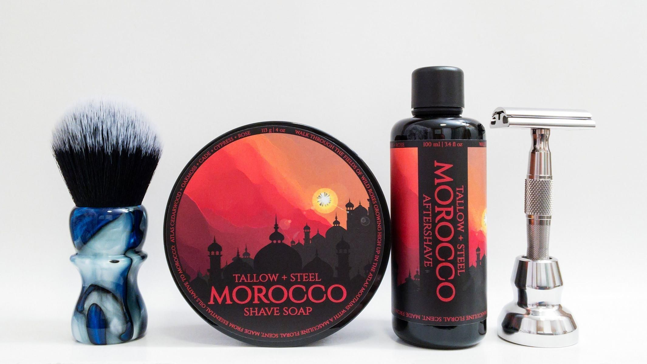 "Tallow + Steel ""Morocco"""