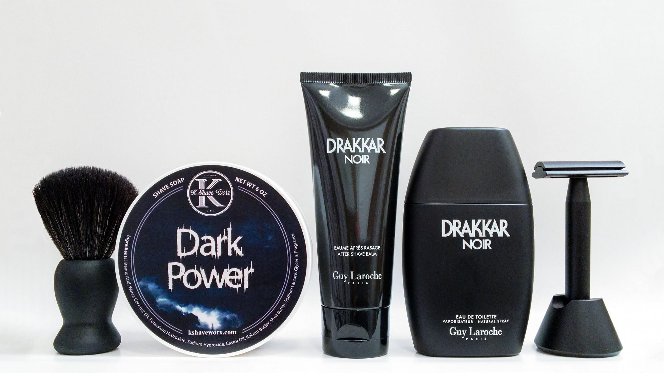 """K Shave Worx """"Dark Power"""""""