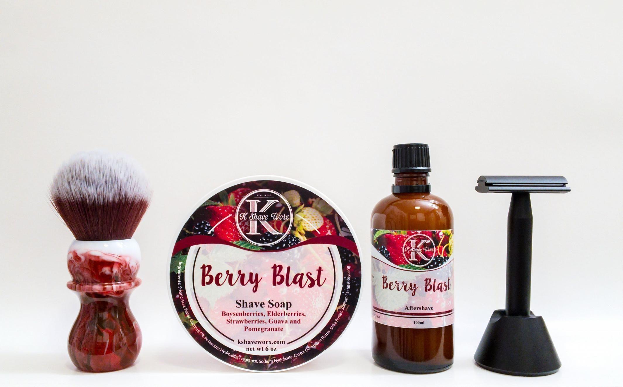 """K Shave Worx """"Berry Blast"""""""