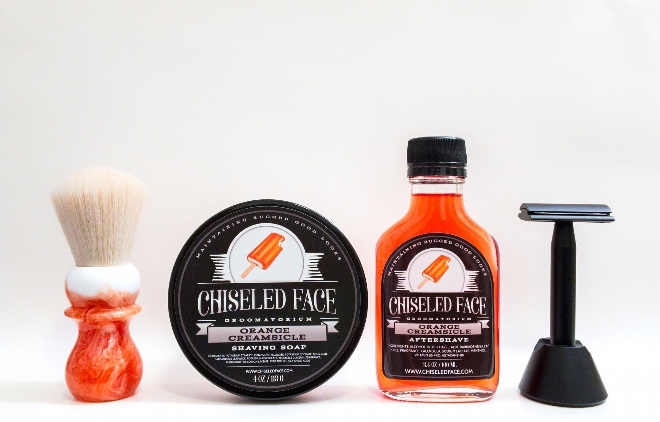 """Chiseled Face """"Orange Creamsicle"""""""