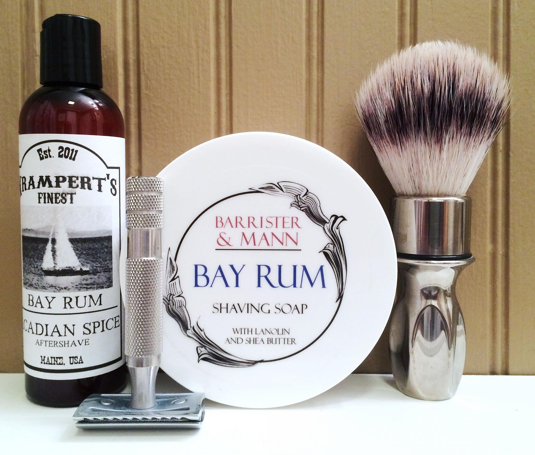 "Barrister and Mann ""Bay Rum"""