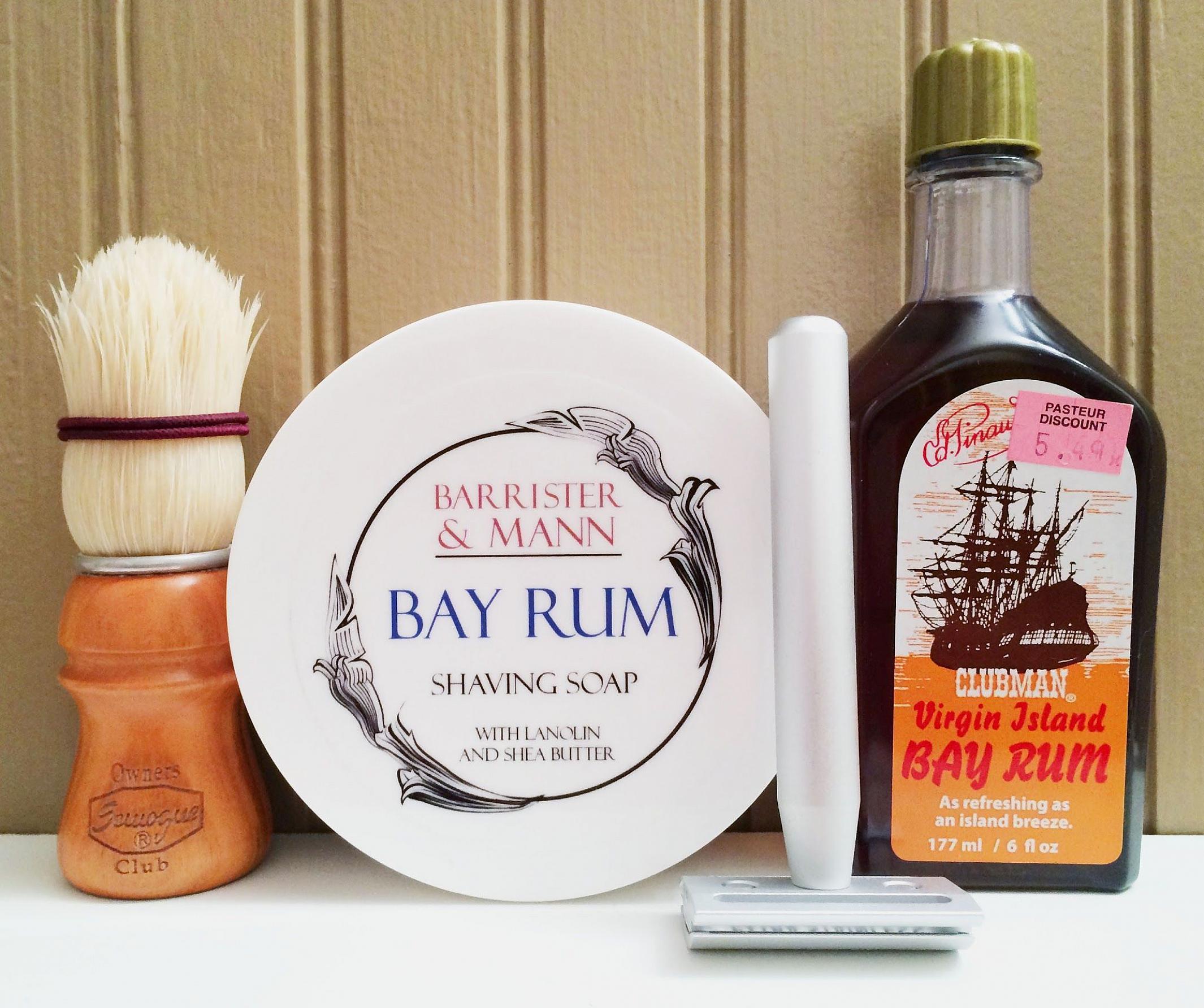 "B&M ""Bay Rum"" & Clubman ""VIBR"""
