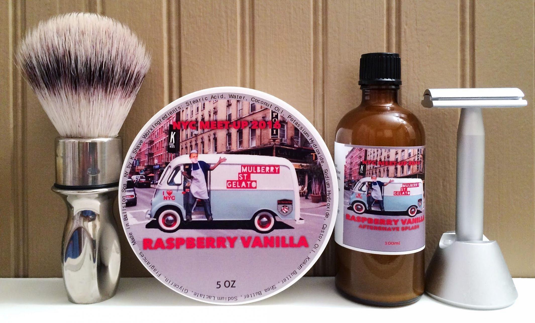 "K Shave Worx ""Raspberry Vanilla"""