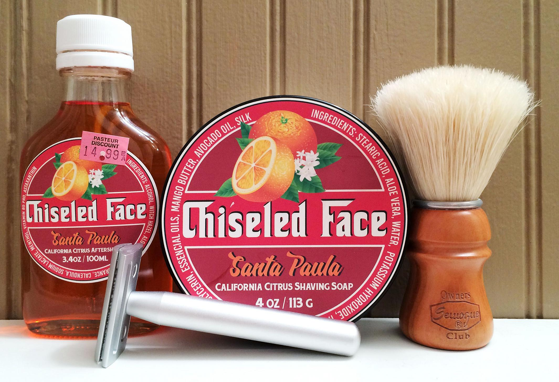 "Chiseled Face ""Santa Paula Citrus"""