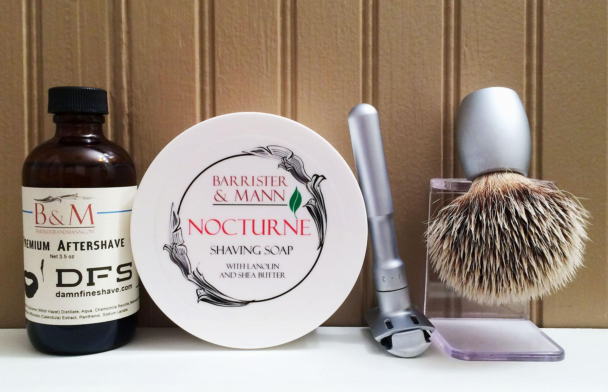 """Barrister and Mann """"Nocturne"""" & """"DFS"""""""