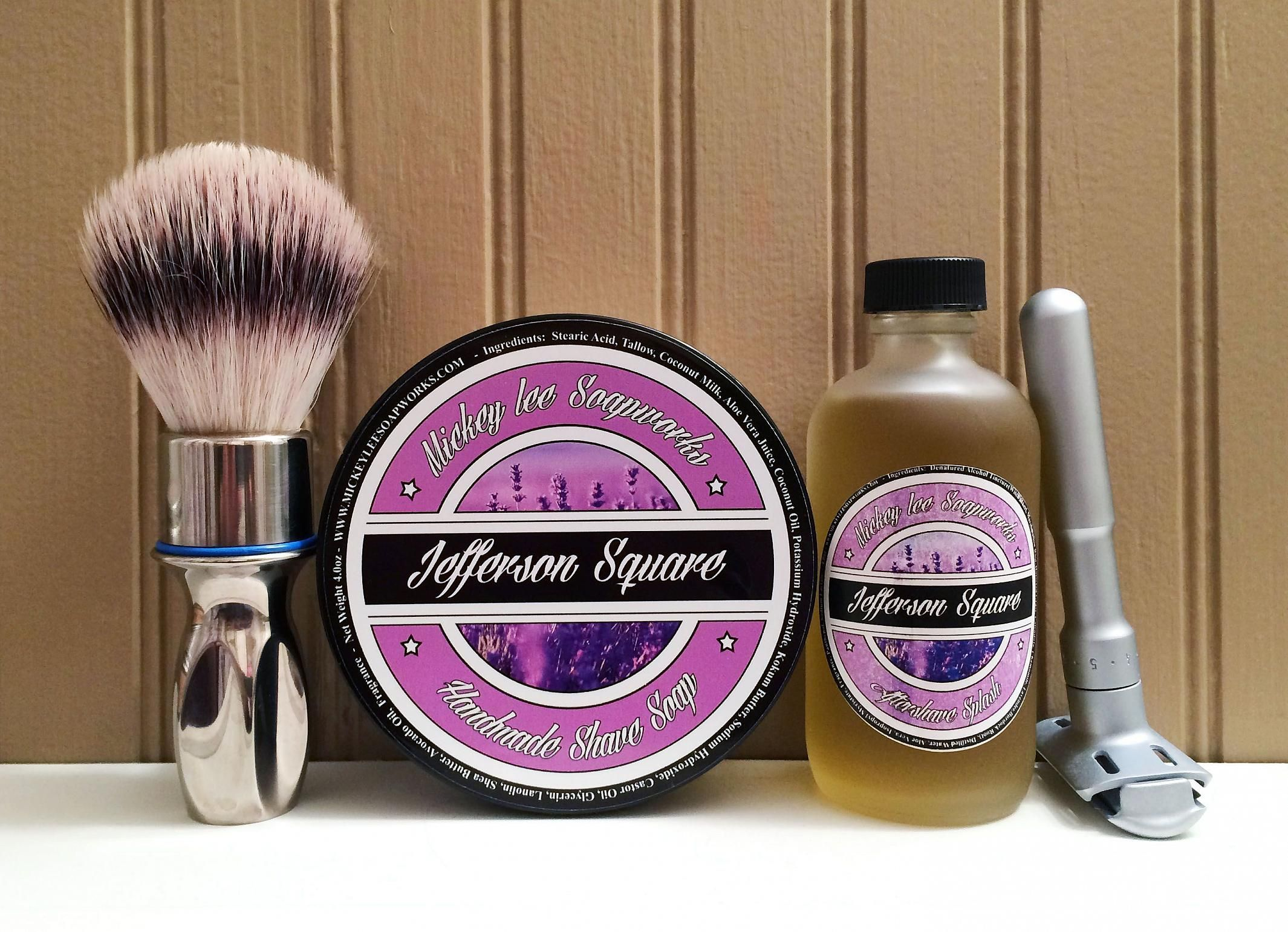 "Mickey Lee Soapworks ""Jefferson Square"""