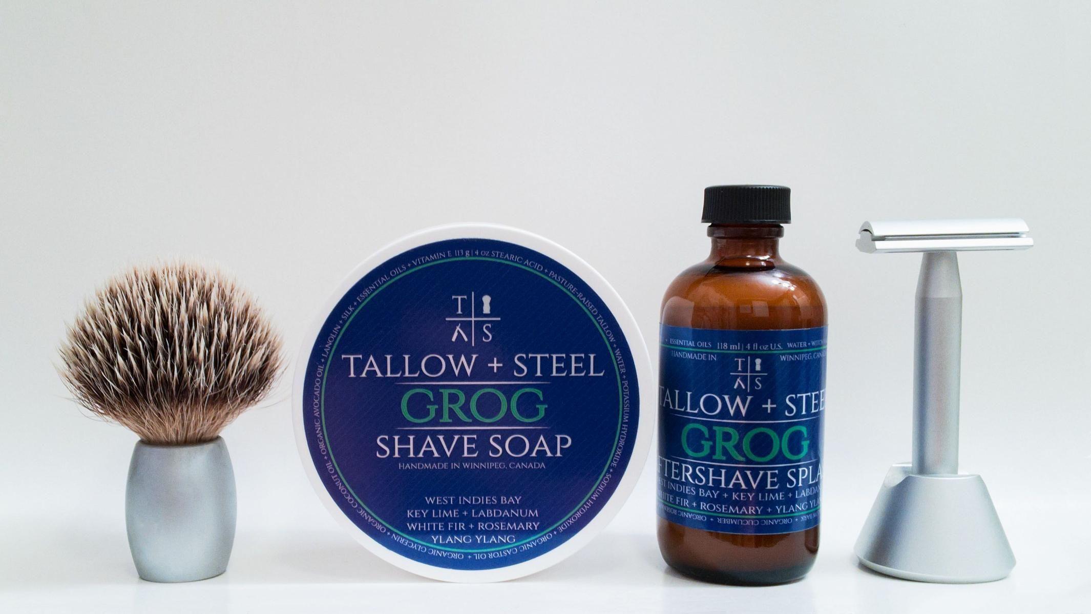 "Tallow + Steel ""Grog"""