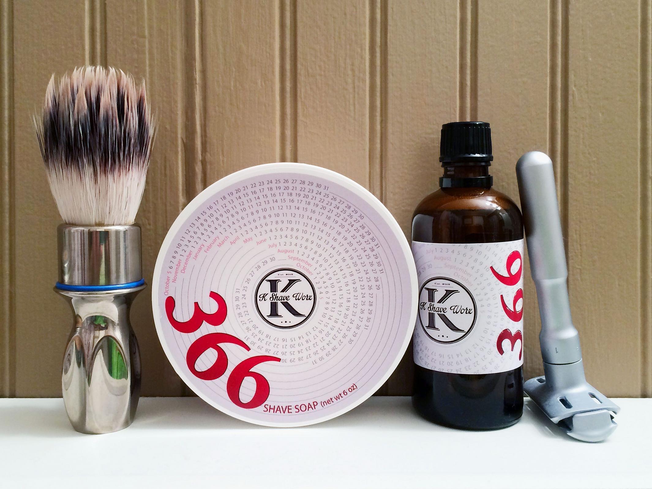 "K Shave Worx ""366"""