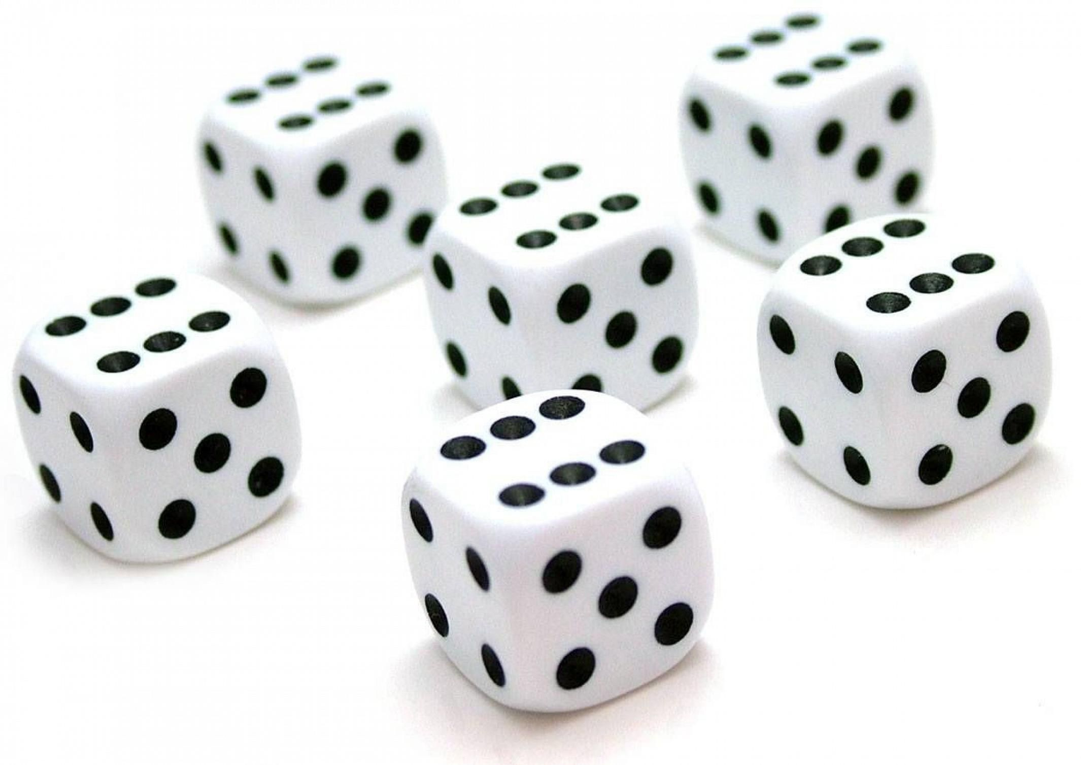 End the confusion with dice