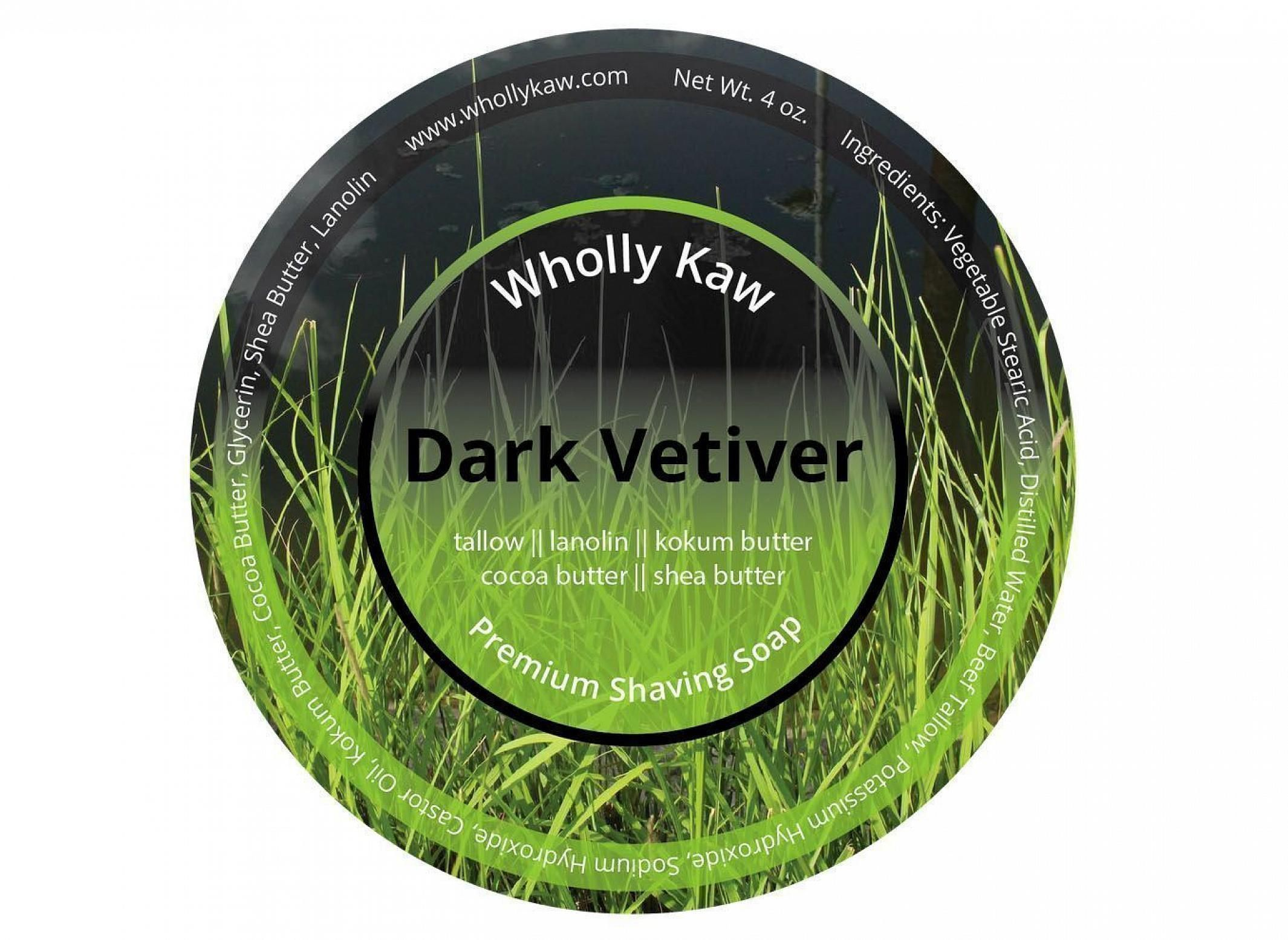 "Wholly Kaw ""Dark Vetiver"""