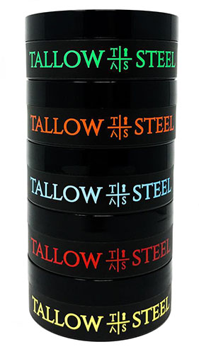 Tallow + Steel - 2017 products stacked